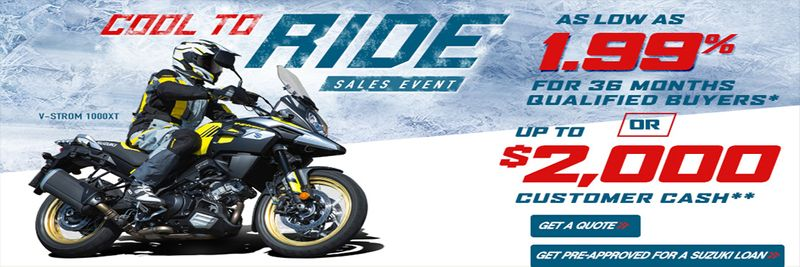 Cool to Ride Sales Event