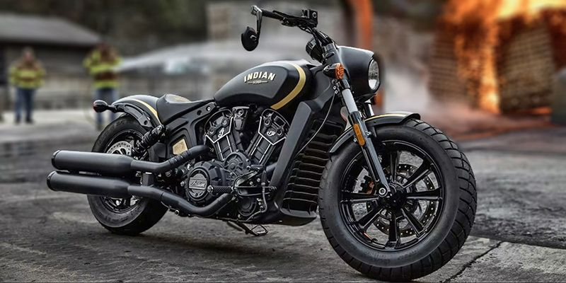 2018 Indian Motorcycle Scout® Jack Daniels®  Limited Edition Indian® Scout® Bobber