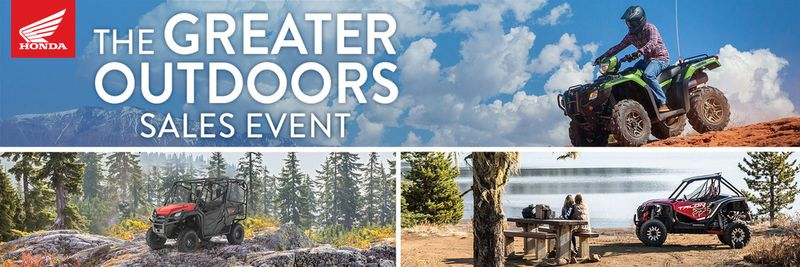 The Greater Outdoor Sales Event