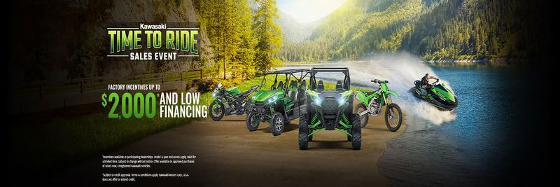 Time to Ride Sales Event