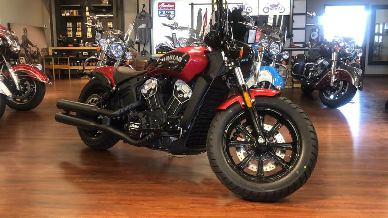 2019 Indian Motorcycle SCOUT BOBBER ABS