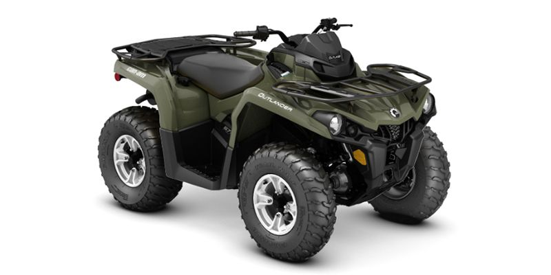 2018 Can-Am OUTLANDER L 570 DPS